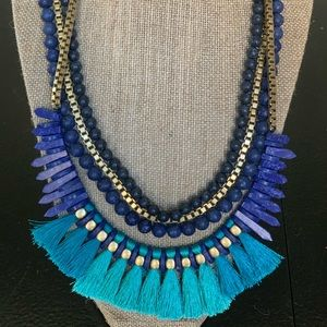 Stella & Dot Tressa statement necklace